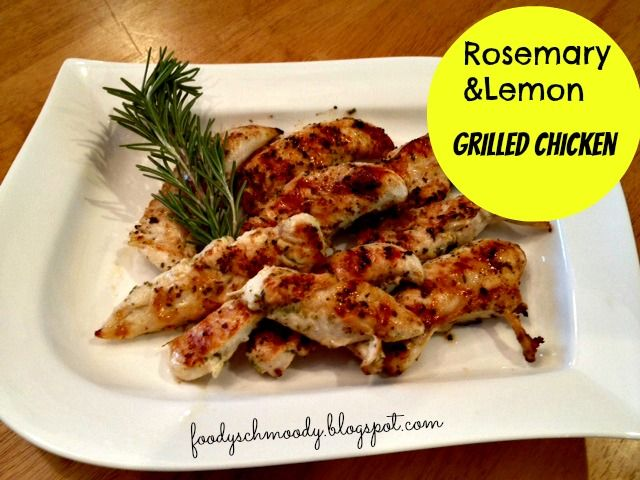 Rosemary & Lemon Buttery Grilled Chicken | Eat: On the Grill - Chicke ...