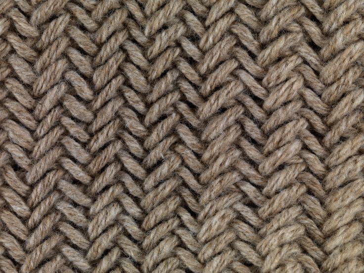 Knitting Stitches Herringbone : herringbone stitch! Im bringing Knitting back... Pinterest