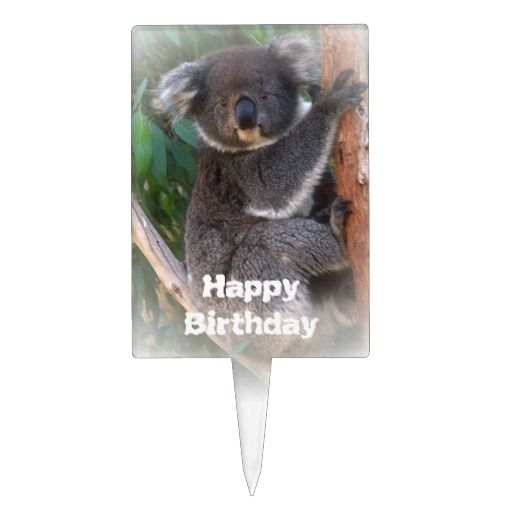 Koala Bears Picture Cake Ideas And Designs