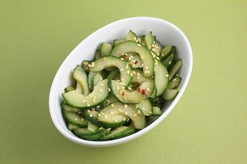 Sesame-Soy Cucumber Salad | Foodie | Pinterest