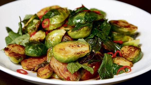 david lee s thai style brussels sprouts the globe and mail