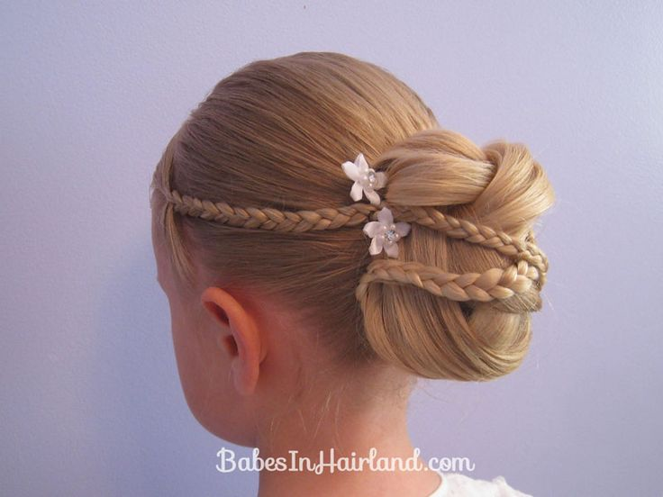 wet curly hairstyles : Micro Braid Updo Wedding Hairstyles Hair styles for kids