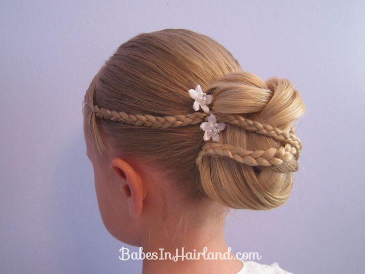 Kid Hairstyles For Weddings : Gallery for gt kids hairstyles weddings