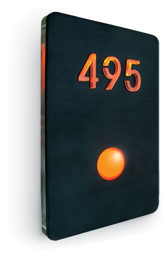 Luxello led house number panels led house number panels finished in