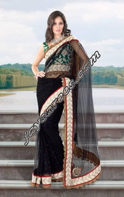 BEAUTIFUL EXCLUSIVE DESIGNER SAREE FOR THE FESTIVAL SEASON AHEAD    MUST FOR EVERY WOMEN, TRENDY AND TRADITIONAL BOTH    FABRIC GEORGETTE MIX WITH NET AND CRAPE    SAREE SIZE 6/30 MTR INCLUDING INSTITCHED BLOUSE FABRIC