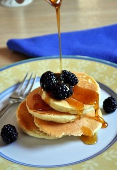 Fluffy Ricotta Pancakes | Easy Cookbook Recipes