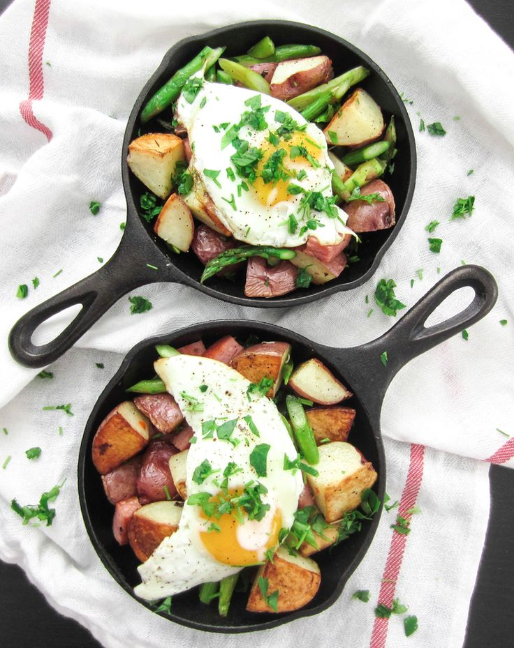 Roasted Red Potatoes with Spam and Asparagus — Bacon Egg & Cheese ...