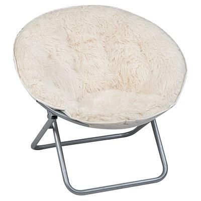 Shag Saucer Chair  Kids  Pinterest