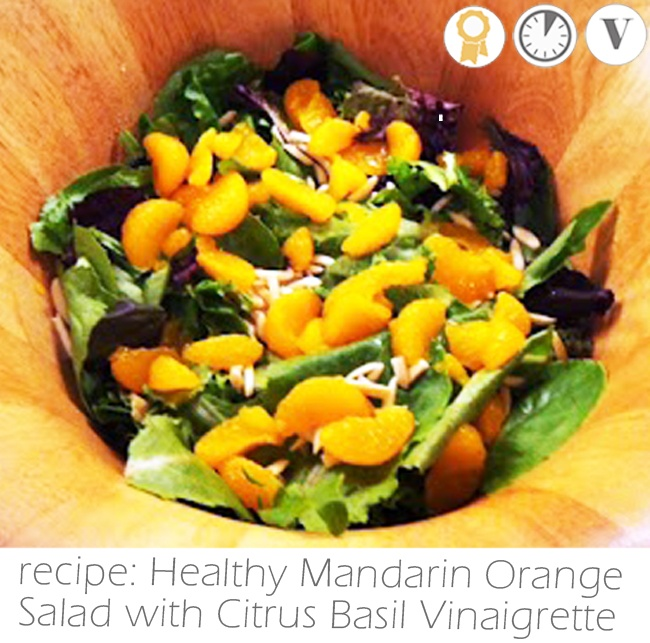 Basil Citrus Vinaigrette Recipe — Dishmaps