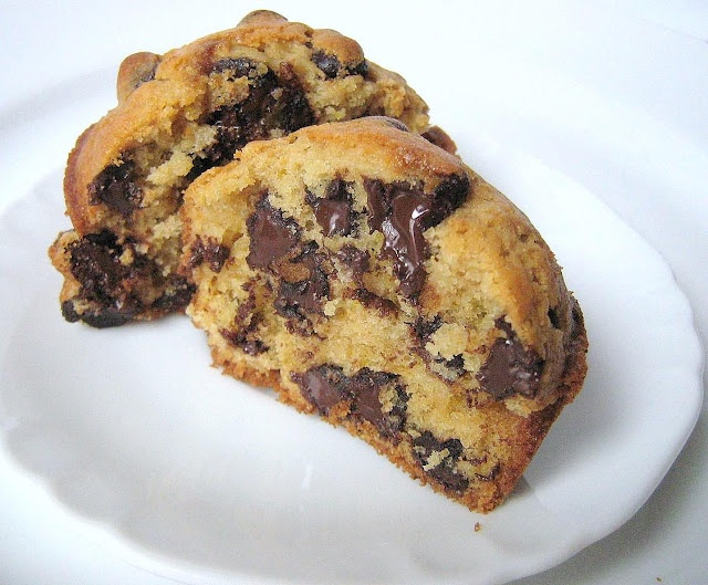 Orange and chocolate chip muffins... Oh yes please! I will be trying ...