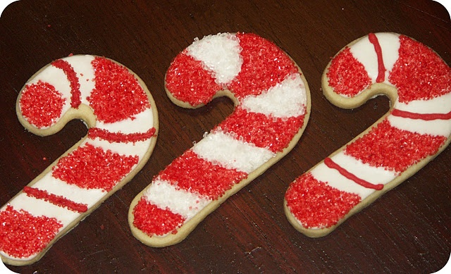 candy cane christmas cookies | Christmas Ideas | Pinterest