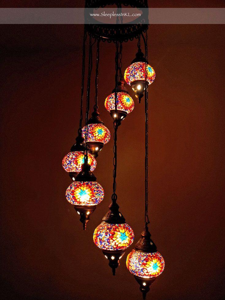 Turkish Mosaic Lamps Home Details Pinterest