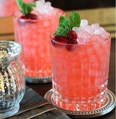 Cranberry Ginger Fizz Cocktail   GiveThanks   Pinterest