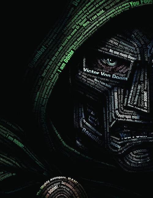 Doctor Doom typography