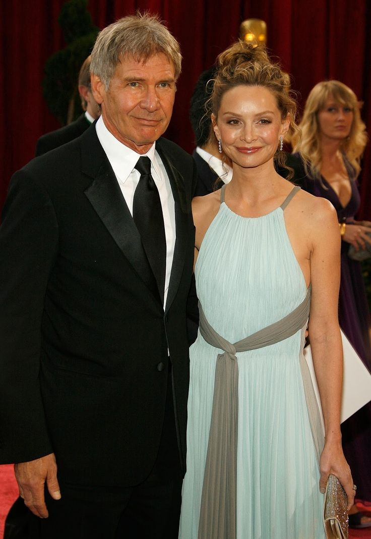 harrison ford with calista flockhart hq photos at 80th annual academy. Cars Review. Best American Auto & Cars Review