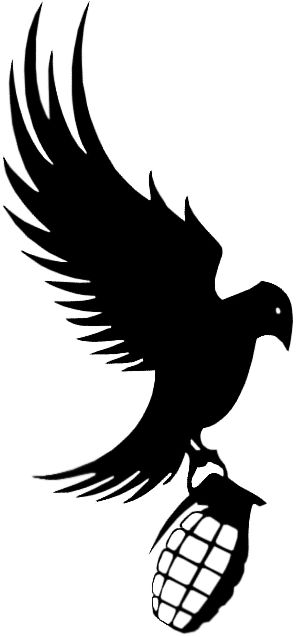 bird and grenade   Dove and Grenade Render photo DoveandGrenade.pngDove Bird Drawing Tattoo