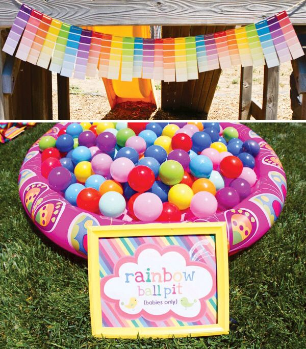 Decorating Ideas > Rainbow Party Games  Baby Girl Birthday Ideas  Pinterest ~ 024212_Birthday Party Ideas Games