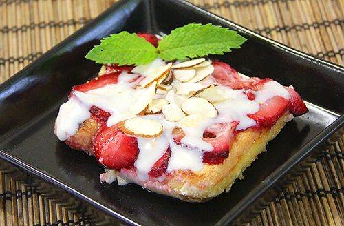 Quick Strawberry Pudding