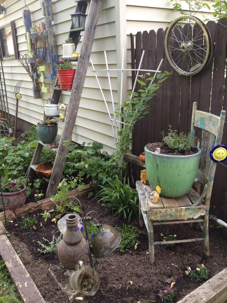 Pinterest Garden Junk Ideas Photograph Glorious Junk