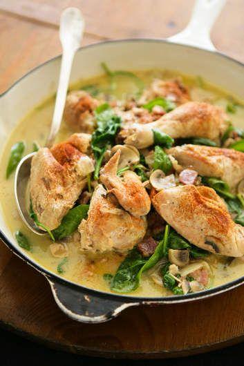 Chicken with mustard cream sauce. | FOOD & RECIPES | Pinterest