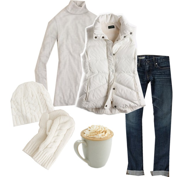 cute outfit for cold weather