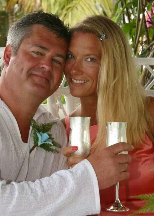Coral wedding dress coral turquoise aqua love wedding stlucia