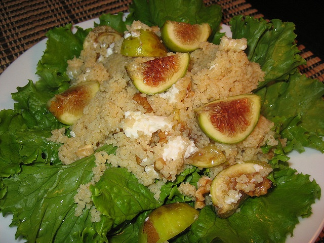 Fig, Goats Cheese and Walnut Couscous Salad by Kevin - Closet Cooking ...