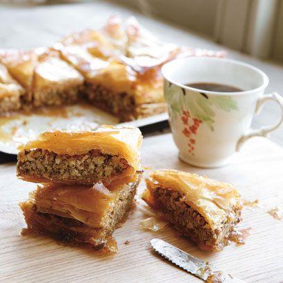 Hugh Fearnley's Filo, Walnuts and Honey: Recipe