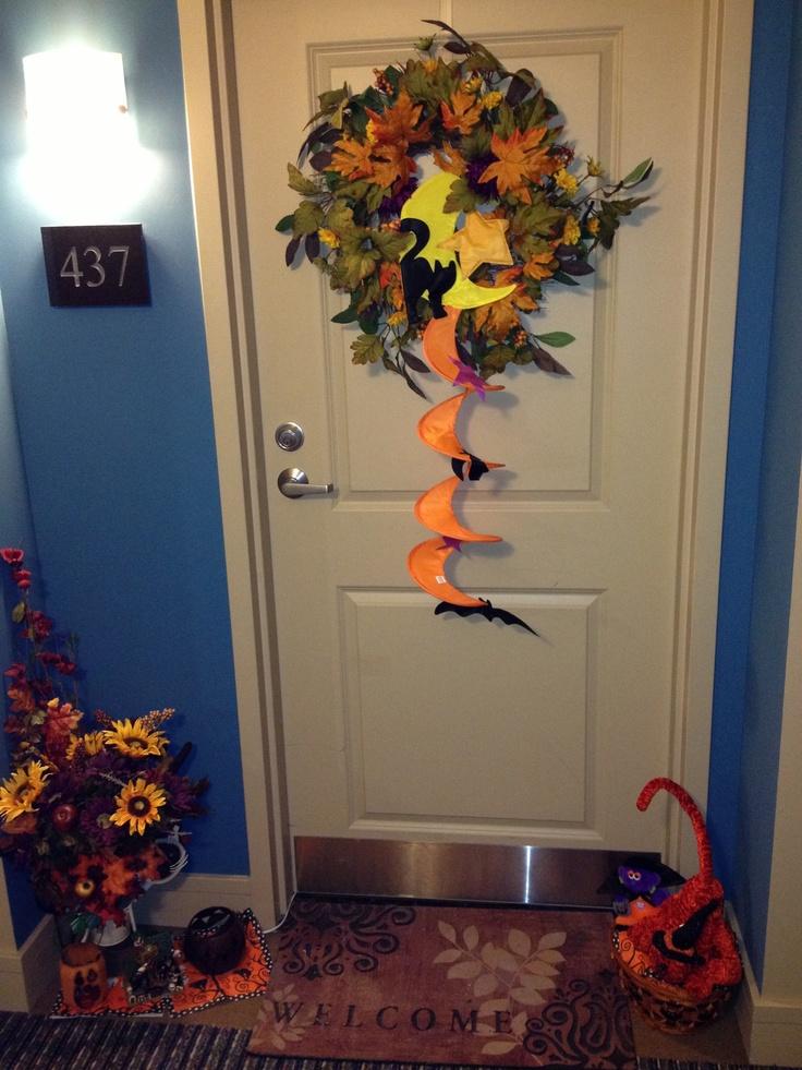Halloween door decor contest #437  Mercer Events  Pinterest ~ 072921_Halloween Door Decorating Contest Rules