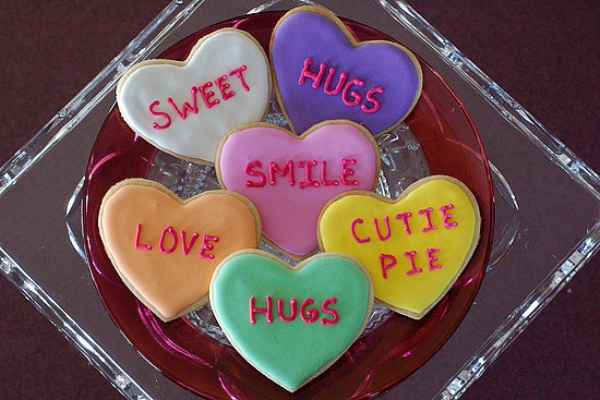 Conversation Heart Cookies... I started making these YEARS ago! One of ...