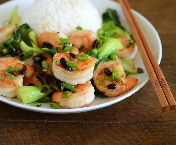 Chinese Shrimp with Black Bean Sauce | Appetite for China