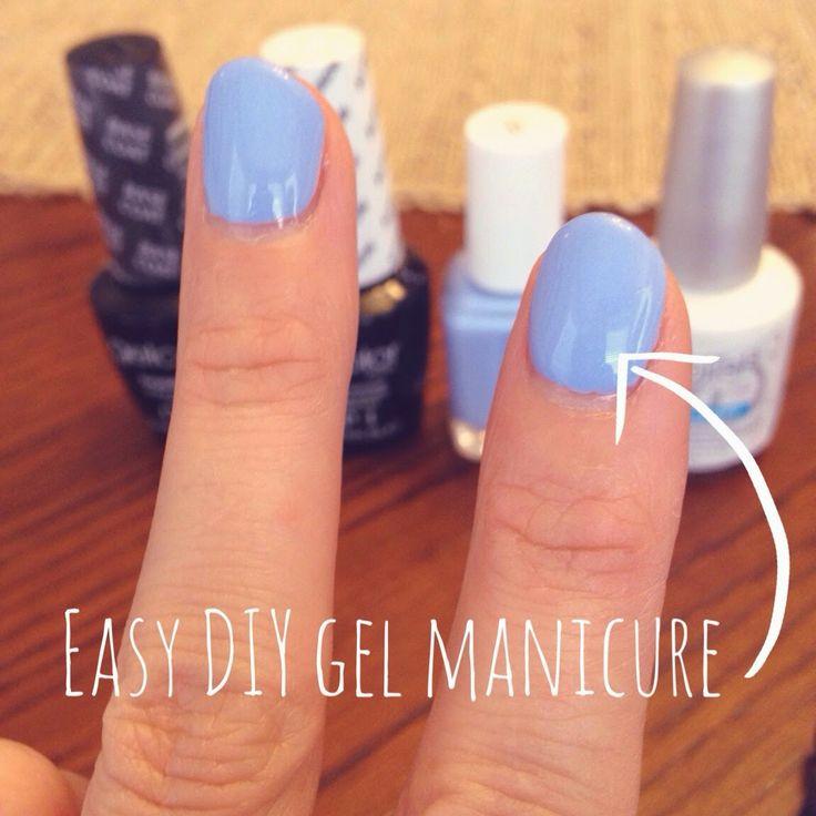 "Easy DIY Gel Manicure | ""Nailed It!"" | Pinterest"