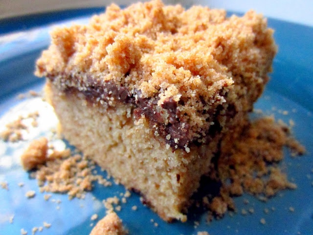 Gluten Free Chocolate Chip Coffee Cake | Desserts | Pinterest