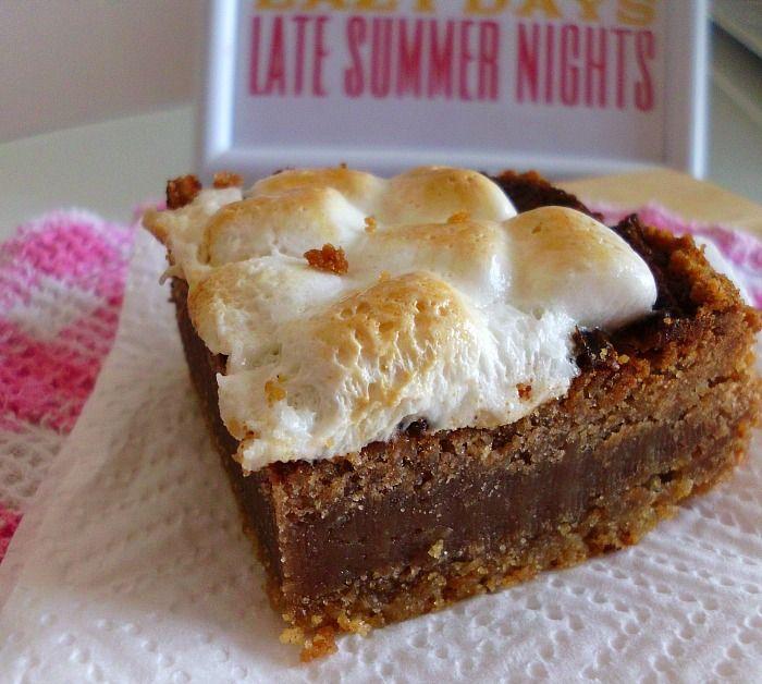 Ooey-Gooey S'mores Brownies | Delish | Pinterest