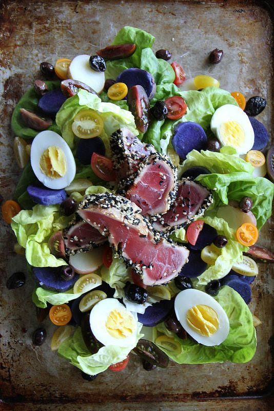 Nicoise Salad with Sesame Seared Tuna | Recipe