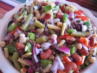 Five Bean Salad | SALADS | Pinterest