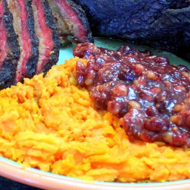 Inspired By eRecipeCards: Honey Butter Mashed Sweet Potatoes with a ...