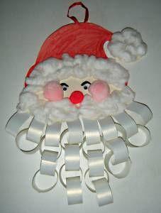 kids crafts christmas garlands pom poms cotton
