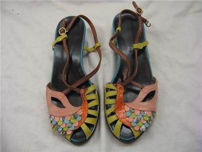 Peacock shoes by Tsumori Chisato.