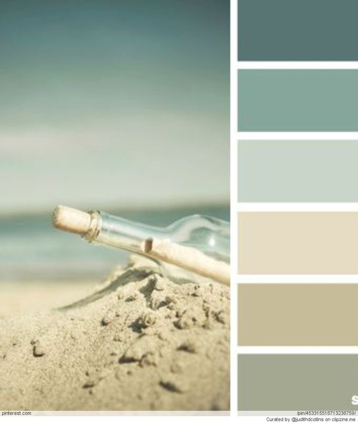 Beach house color palettes beach life pinterest Bathroom color palettes
