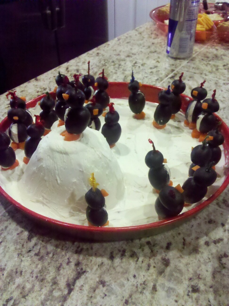 Penguin Appetizers After Halloween Pinterest
