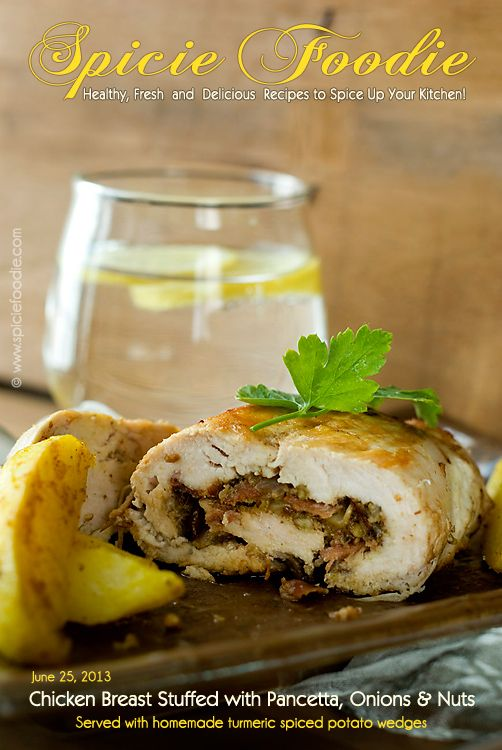 Chicken Breast Stuffed with Pancetta, Onions and Nuts   Dinner In 30 ...