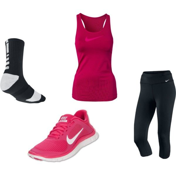 Gym Clothes by abdynasty on Polyvore cheap cheap nike free 4.0 $47