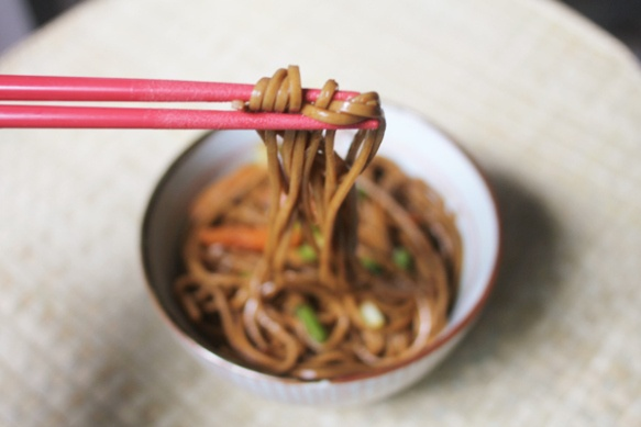 More like this: soba noodles and noodles .