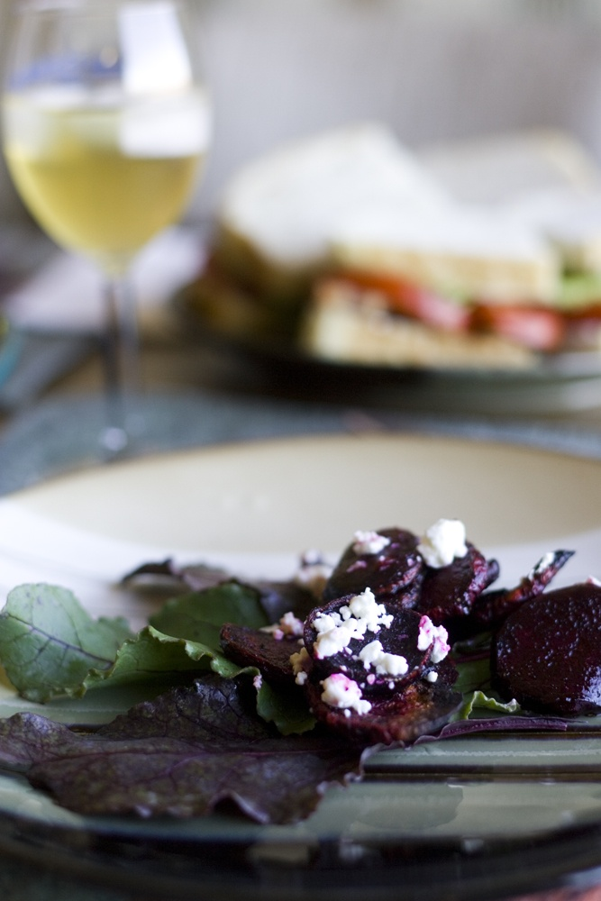 roast beets with feta... and wine | Food Coma | Pinterest
