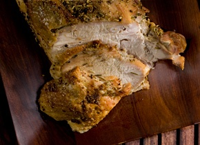 Herb-Rubbed Roasted Turkey Breast | Recipe