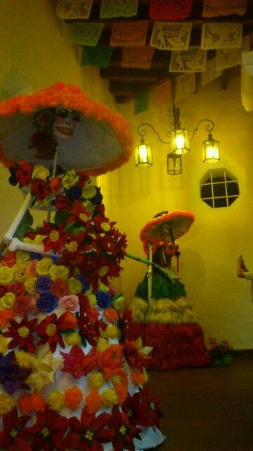 Catrinas. Día de muertos. Tradición de México.