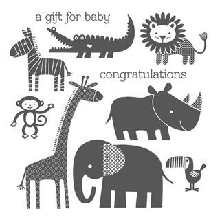Zoo babies stampin up- I may need this stamp set for my collection. So cute.