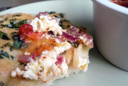 Baked Feta and Tomatoes | Mediterranean recipes | Pinterest