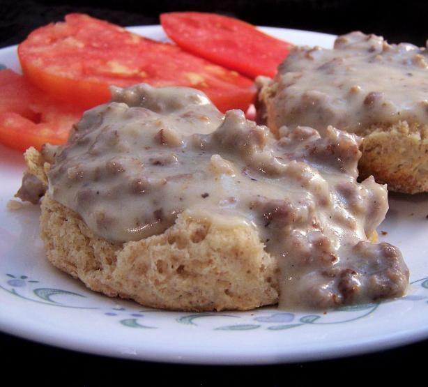 Southern Sausage Gravy Recipe - Food.com - 256299